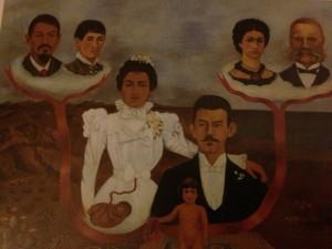 "Frida Kahlo, ""My Grandparents, My Parents and I"""