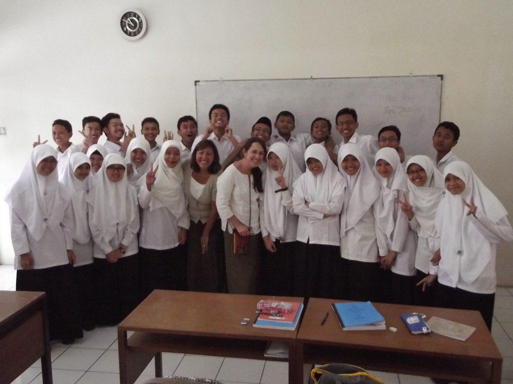 Teaching in Indonesia