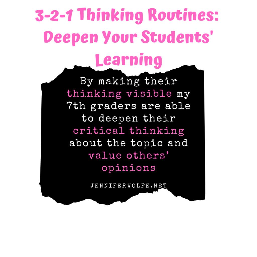 thinking routine