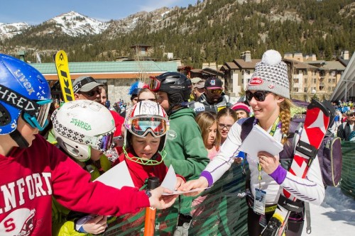 Meeting Mikaela Shiffrin, Squaw Valley, U.S. Nationals
