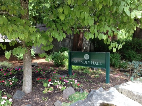 Friendly Hall at the University of Oregon in Eugene, Oregon