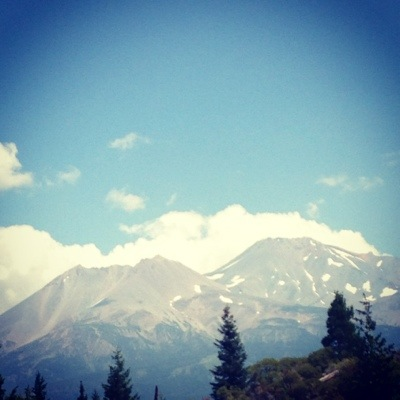 Majestic Mt. Shasta, California