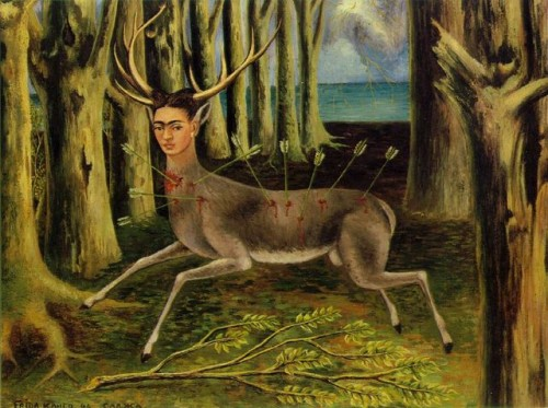 The Wounded Deer by Frida Kahlo