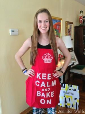 Baking DOES reduce stress!