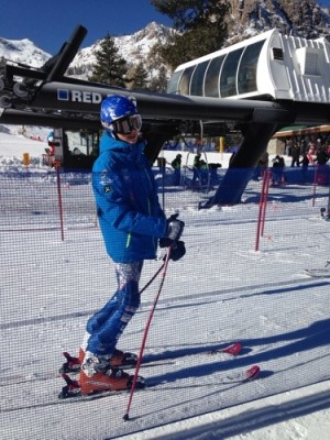 Ski racing at Squaw Valley