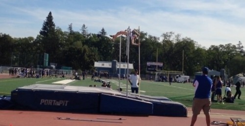 Lily Pole Vaulting 11 feet