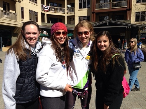 Lily and Mikaela Shiffrin