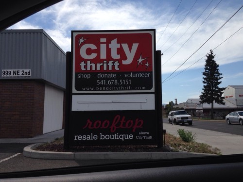 City Thrift in Bend, Oregon