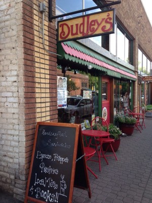 Dudley's Bookshop Cafe in Bend, Oregon